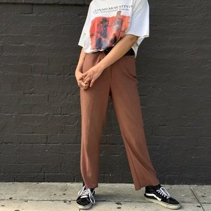 Perfect vintage plaid pants!